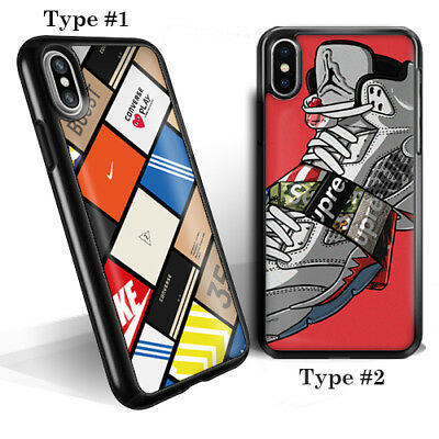 premium selection 00795 4ba65 SUPREME NIKE ADIDAS Sneaker Box For Iphone 6 7 8 X XS XR XS Max New Case  Cover