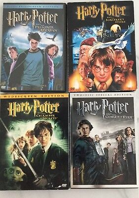 Harry Potter: Complete 8-Film Collection (DVD, 2002, 8-Disc Set)