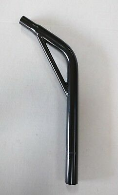 New Bicycle Lay-Back steel Seat Post W//O Support Steel 22.2mm BICYCLE seat post