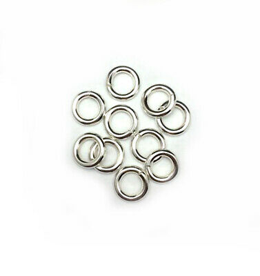 Sterling Silver 925 Round Open Jump Rings 2mm-18mm, 12ga-24ga Gauge ALL SIZES