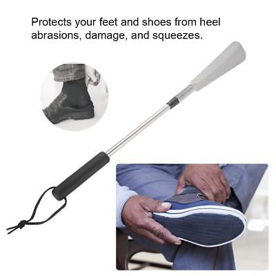 Portable Telescopic Extendable Shoe Horn Collapsible Handled Shoe Accessories