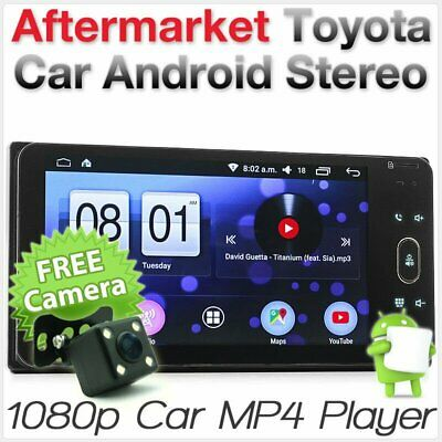Android Car MP3 Player Stereo Radio For Toyota Hilux Land Cruiser Prado MP4 GPS