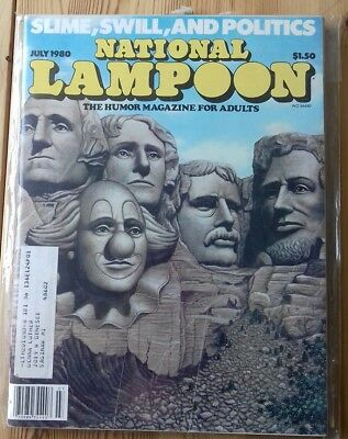 national lampoons magazine comedy adults July 1980 great unusual birthday gift