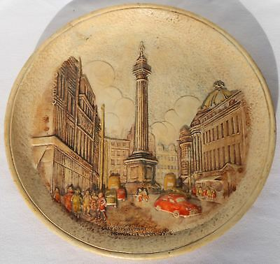 Rare Norman Carling Greys Monument Newcastle Wall Plaque 1953