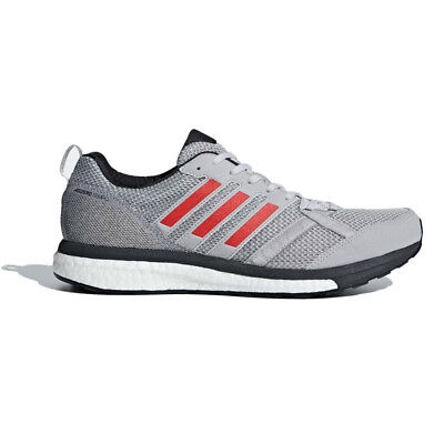 huge discount d4f21 9fe01 adidas Mens Adizero Tempo 9 Running Shoes Trainers Sneakers Grey Sports