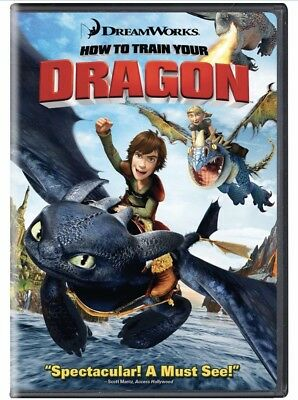 How To Train Your Dragon (DVD, 2014) Brand New Sealed R4