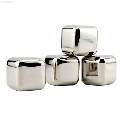 571F 1x1x1inch Stainless Steel Chillers XM Ice Cubes