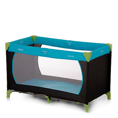 Hauck Dream'n Play Travel Cot - Water Blue