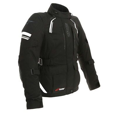 Alpinestars Stella Andes V2 Drystar Waterproof Ladies Textile Jacket - Black