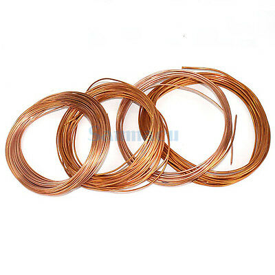 1 Meter 1.6/1.8/2/2.2/2.5/3/4/5mm O.D Copper Capillary Tubing For Air Condition