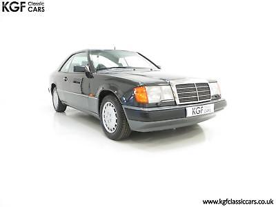 A Magnificent Mercedes-Benz W124 300CE with Just 50,685 Miles and Full History