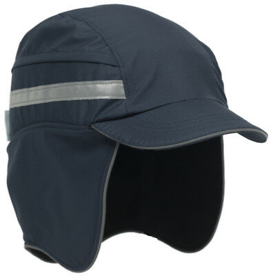 Scott HC23 WINTER Waterproof Breathable Safety Bump Cap NAVY BLUE