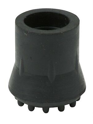 All Sizes Rubber Ferrule Tip End For Walking Sticks, Canes & Crutches