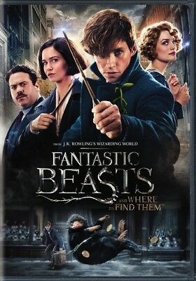 Warner Home Video D652699D Fantastic Beasts & Where To Find Them (Dvd/single ...