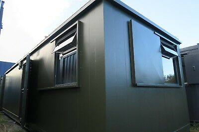 32ft x 10 ft  Anti Vandal  Canteen / Office Portable Site Canteen Container