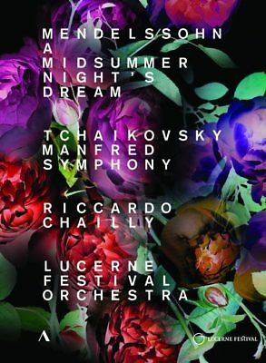 "DVD RICCARDO CHAILLY ""A MISSUMMER NIGHTS DREAM / MANFRED SYMPHONY"". Nuevo y prec"