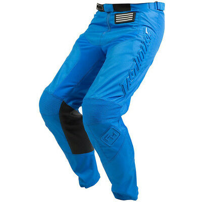 Fasthouse NEW Mx 2018 Grindhouse Solid Blue Adult Motocross Dirt Bike Pants