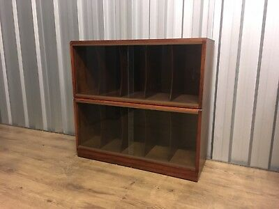 Simplex Sectional Bookcase Library Stacking Shelves Vinyl Storage Delivery Poss