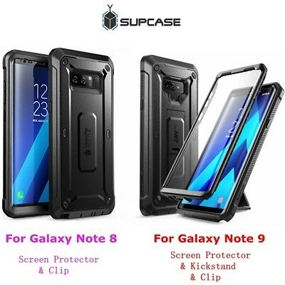 huge selection of 04f6e 6f391 FOR SAMSUNG GALAXY Note 8 / Note 9 Case SUPCASE UBPro FullBody  Cover+Screen+Clip
