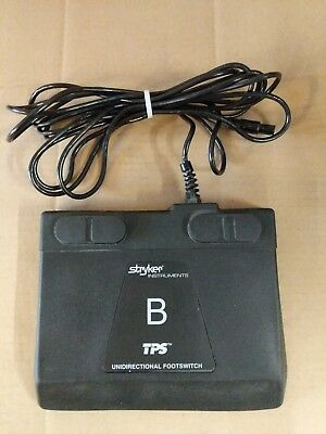 Stryker Instruments TPS B Unidirectional Footswitch 5100-7