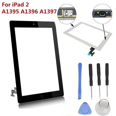 Touch Screen Digitizer Glass Lens Replacement For Apple iPad 2 A1395 A1396 A1397