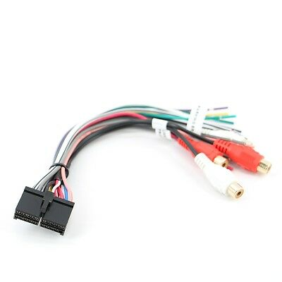 NEW 20 PIN Wire Harness for JENSEN CD3010X CD Receiver ... Jensen Vm Wiring Harness Diagram on jensen marine radio wiring harness, jensen car amp wiring, jensen vm9312hd wiring-diagram, jensen vm9312 wiring, jensen dvd wiring-diagram, jensen radio wiring plug 16, jensen vm9022 pinout wire harness, jensen vm9412 car wiring diagrams, jensen amplifier harness, jensen replacement wire harness, jensen cd3010x wiring harness diagram, jensen flip out harness diagram,
