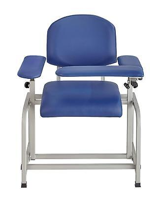 AdirMed Blue Padded Blood Drawing Chair