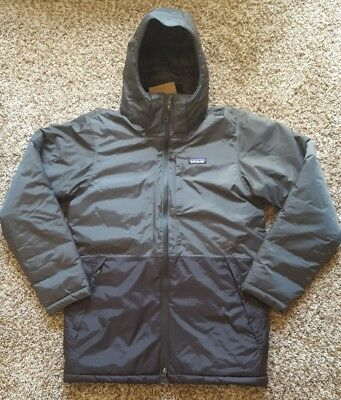 1ba175695 NWT $299 PATAGONIA Mens Insulated Torrentshell Parka Jacket Forge Grey SM  27845
