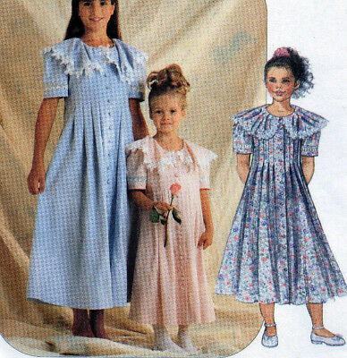 McCalls 8059 Special Moments Party Tea Semi Formal Girls Dress Pattern 4-5-6 UC