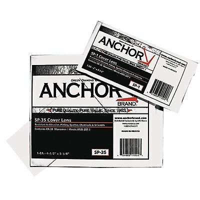 Anchor Brand 101-SP-1 50% CR-39 Plastic Replacement Lenses