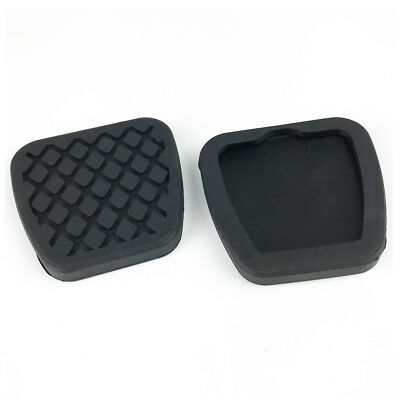 2X Rubber Brake Clutch Pedal Pad Covers For Honda Civic Accord Cr-V Acura