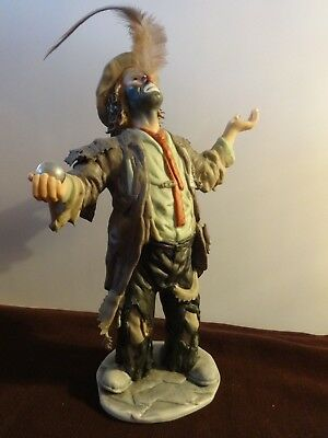 """Emmett Kelly Jr  """"The Balancing Act"""" Limited Edition Figurine"""