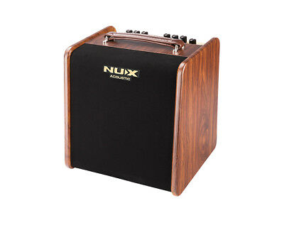 NuX AC-50 Stageman Analog Acoustic Guitar Amp w/ Digital FX and Jam Function