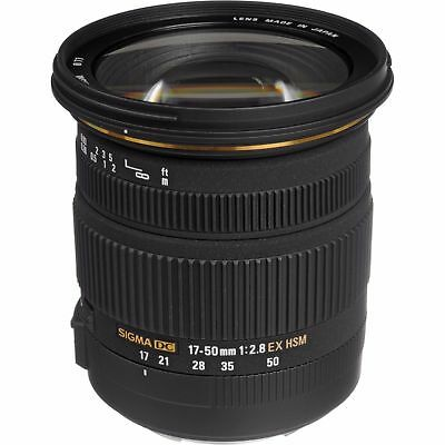 Sigma 17-50mm F2.8 EX DC HSM - Sony A Mount - NEW LOWERED PRICE