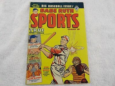 Babe Ruth Sports Comics #9 1950