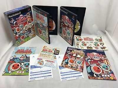 SONY PS2 Japan Taiko no Tatsujin Special Pack PlayStation 2 Limited Edition