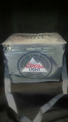 Coors Light Beer Soft Collapsible Cooler Bag BRAND NEW!