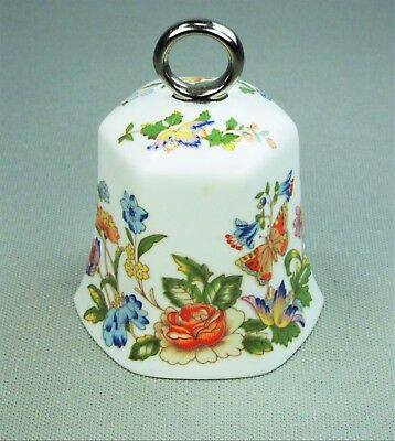 Aynsley Fine English Bone China Garden Bell - Vintage Bell Made in England, Nice