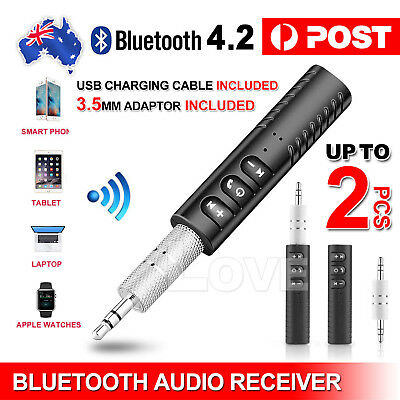 3.5mm Jack Wireless Bluetooth Receiver Audio Adapter Car AUX suit Bose Headphone