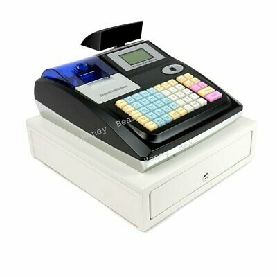 KARDEX M-3100U Black Electronic Cash Register with Drawer 36 Departments