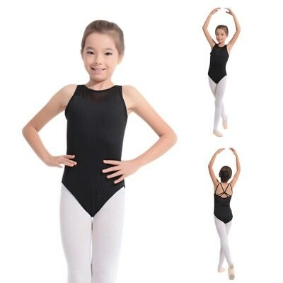 Kids Girls Ballet Gymnastics DancewearClothes Child Bodysuit Leotard Dance NEW