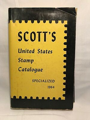 1964 Scott's United States Stamp Catalogue Specialized  Hardcover