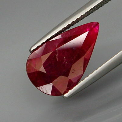 3.08Ct.Museum Gem! Natural Top Red Pink Normal Heated Ruby Mozambique