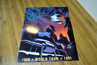 Zz Top World Tour Tourbook Like New