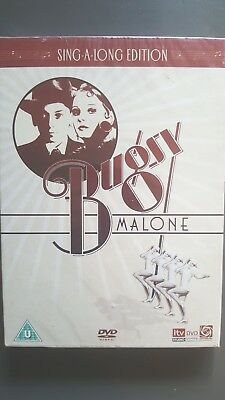 Bugsy Malone [ Sing-A-Long EditionDVD ] NEW & FACTORY SEALED, FREE Next Day Post