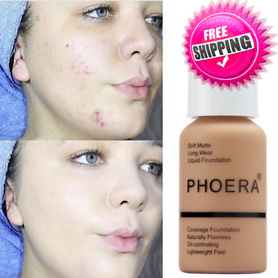 PHOERA Soft Matte Full Coverage Liquid Foundation UK ILO