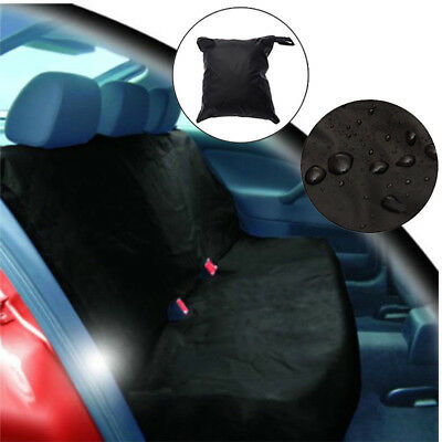 UK_ Car Rear Back Seat Cover Universal Waterproof Pet Dog Cat Protector Easy Fit