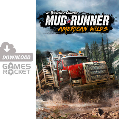 Spintires: MudRunner - American Wilds Expansion | offizieller Steam Key [PC]