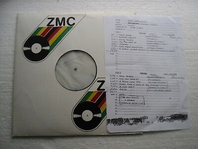 Kiss - Unplugged / MTV - SAMPLE/ Tespressing + cuesheet / ZIMBABWE LP