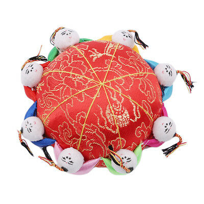 Chinese Red Pin Cushion Sewing Craft Needle Storage Holder Sewing Tool Kit Z
